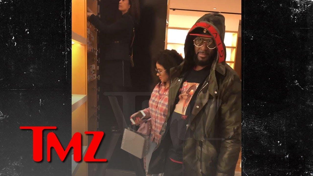 R. Kelly Seen Shopping with 'Brainwashed Sex Slave' Joycelyn Savage | TMZ 3