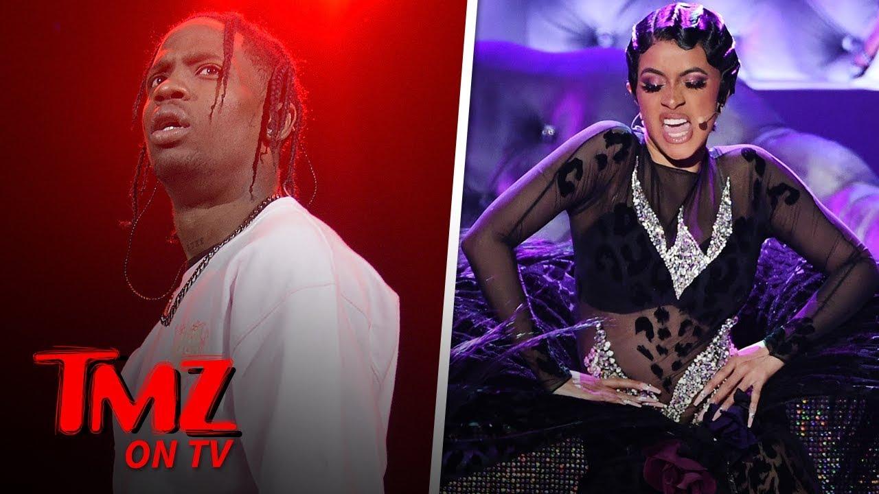 Cardi B & Travis Scott To headline New Club Opening In Vegas | TMZ TV 5