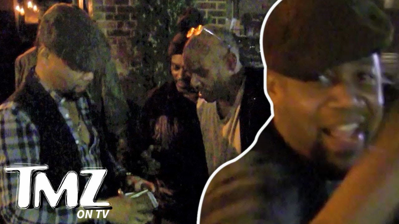 Cuba Gooding Jr. & The Greatest Homeless Guy Ever! | TMZ TV 4