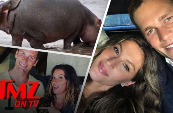 Tom Brady Eats Da Booty | TMZ TV 6