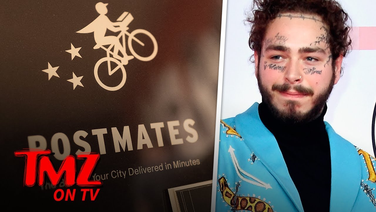 Post Malone Is The King Of Postmates | TMZ TV 4