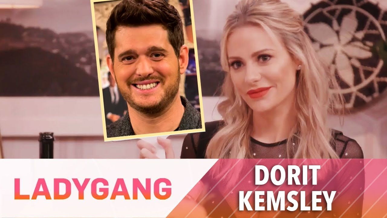 Dorit Kemsley Is All About Michael Buble! | LadyGang | E! 5