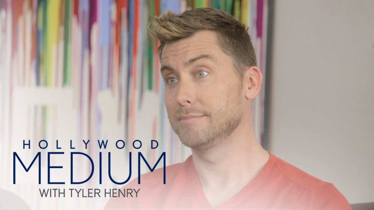What's in Lance Bass' Husband's Future? | Hollywood Medium with Tyler Henry | E! 4
