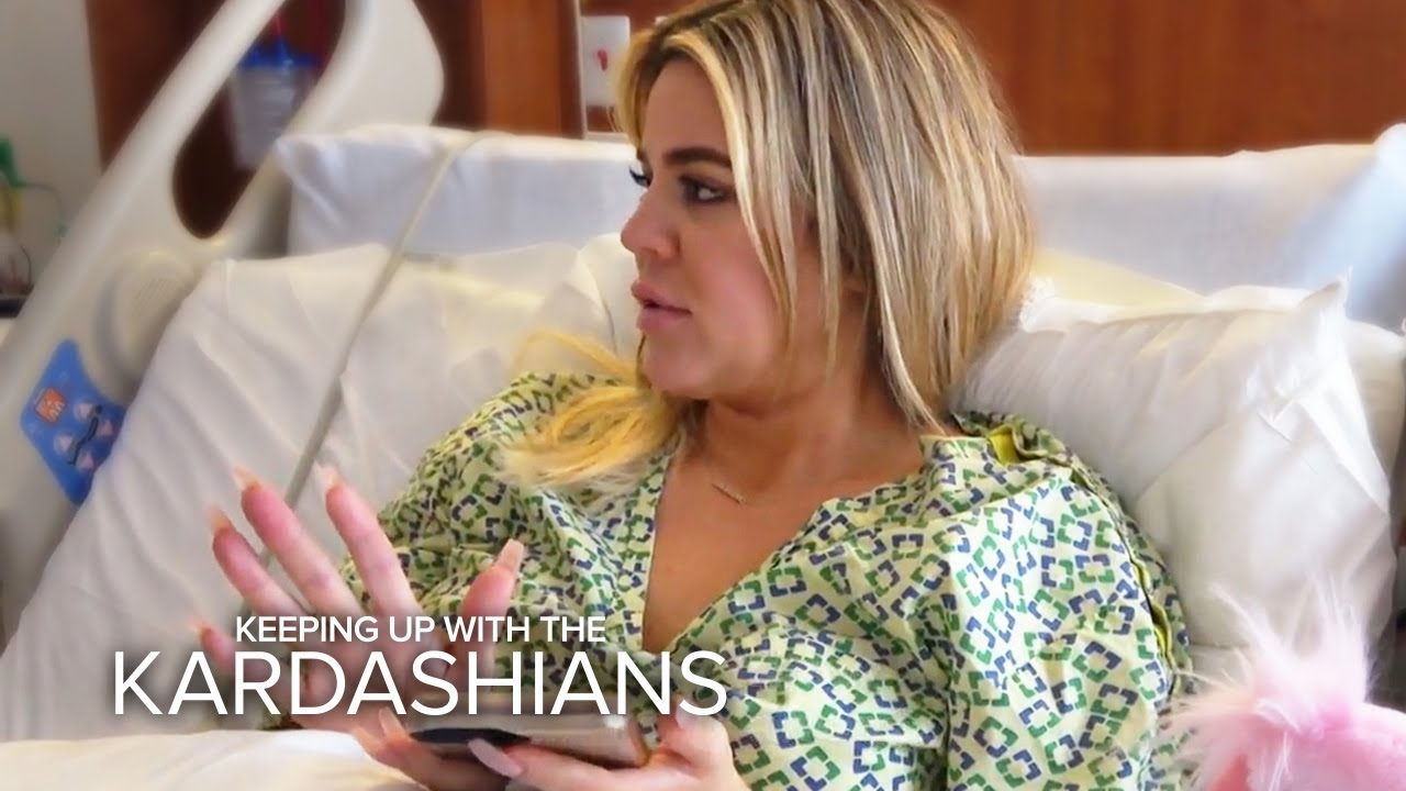 Khloe Kardashian Gives Birth In The Middle Of Tristan Scandal | KUWTK | E! 5