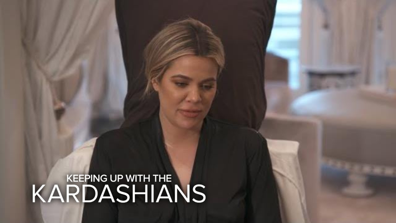 KUWTK   Khloé Kardashian Gets a Cast Made of Her Pregnant Belly   E! 3