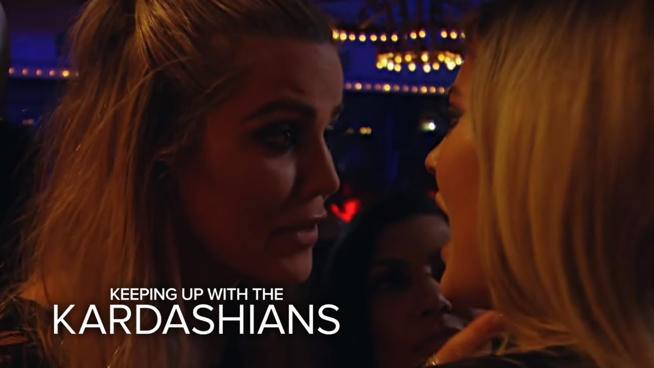 KUWTK    Khloé Kardashian Pissed at Kylie Jenner for Ditching Them   E! 4