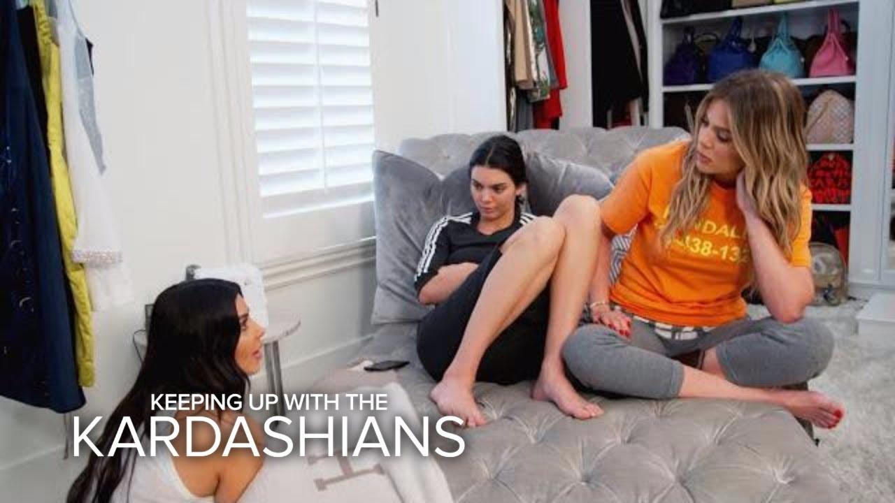 KUWTK | Kendall Jenner & Khloe Kardashian Consider Getting a Gun | E! 5