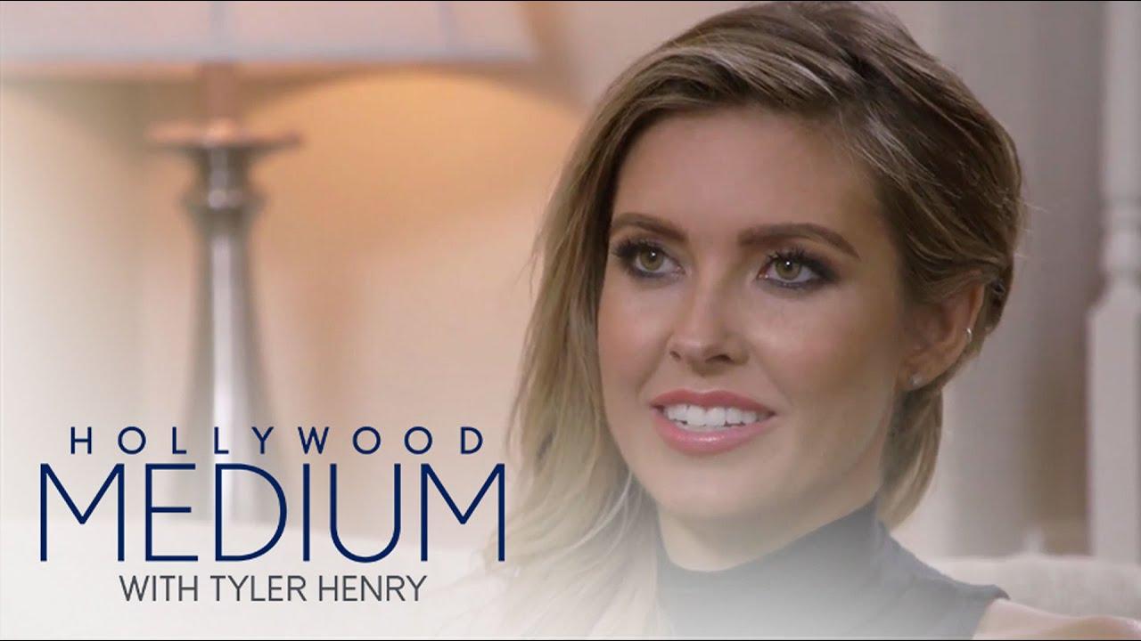 Tyler Henry Shocks Audrina Patridge With Unborn Baby News   Hollywood Medium with Tyler Henry   E! 5