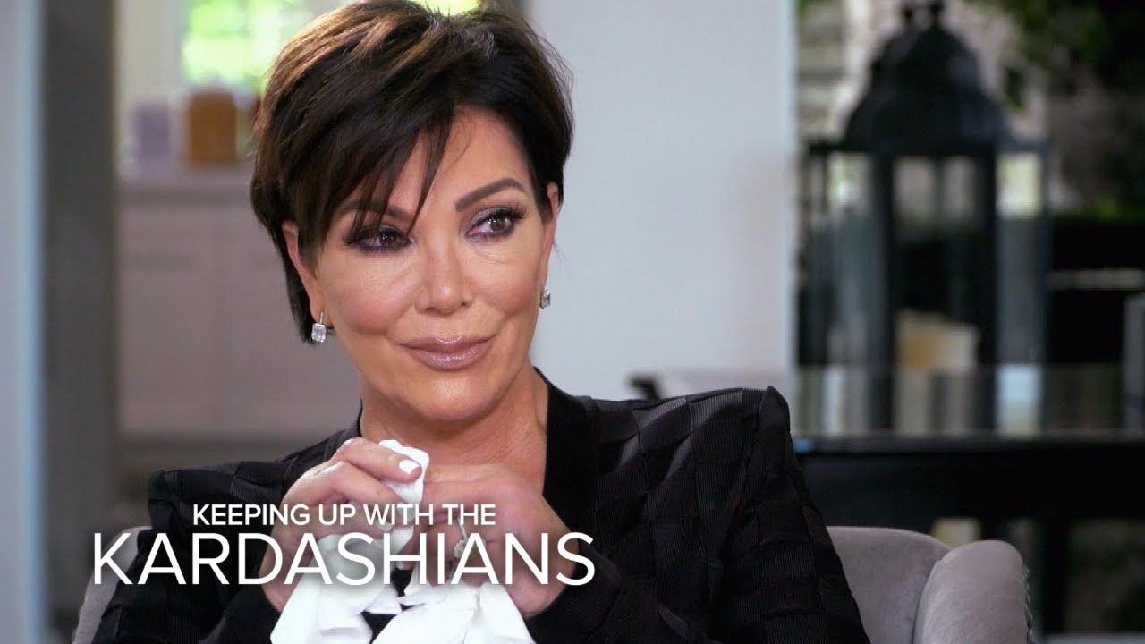 KUWTK | Kris Jenner Breaks Down Over Her Biggest Fear | E! 4