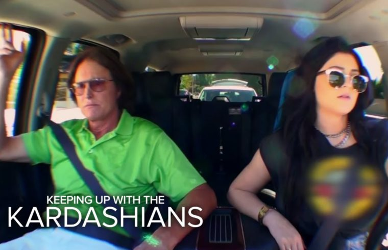 KUWTK | Kylie and Bruce Jenner Fend Off Paparazzi | E! 1