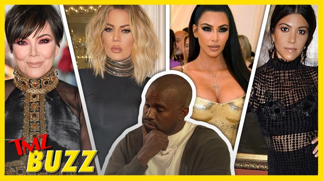 Which Kardashian Does Kanye Want In Bed? ALL OF THEM | TMZ BUZZ 5