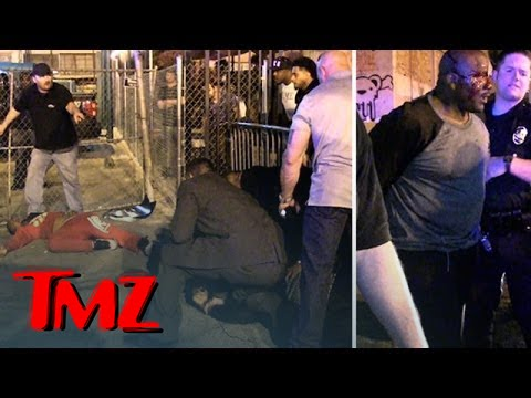 The Fight That Started The Game and T.I. INTENSE LAPD Standoff   TMZ 4