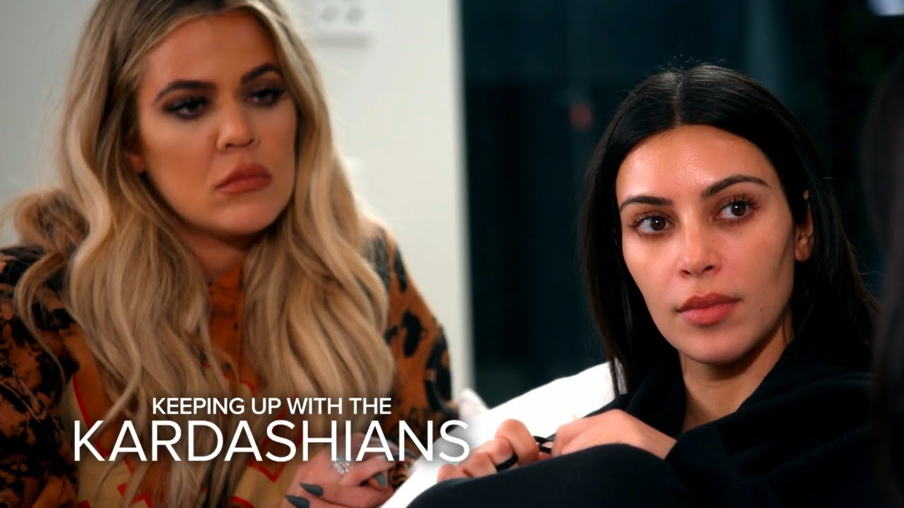 KUWTK | Kim Kardashian West Explains Horrifying Paris Robbery | E! 4
