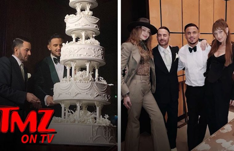Marc Jacobs Gets Married in Lavish New York Wedding   TMZ TV 1