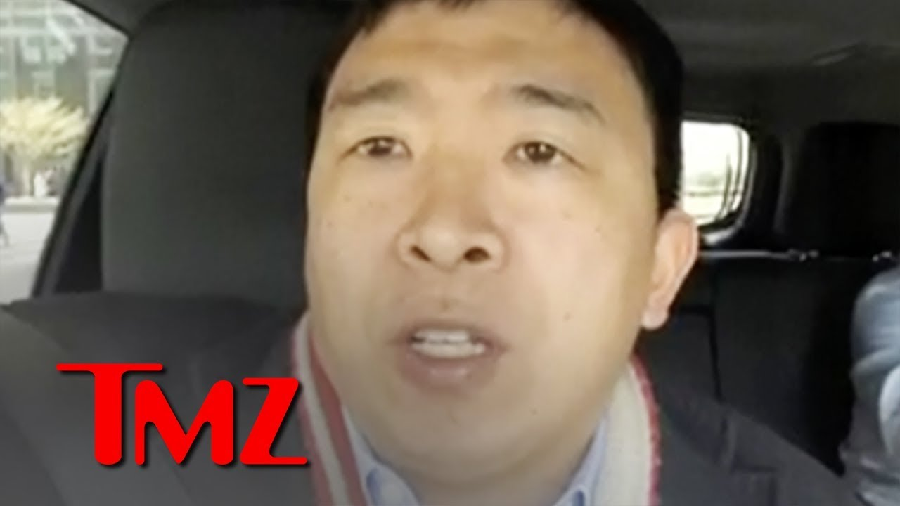 Presidential Candidate Andrew Yang Defends Plan to Give $12k:Yr to Everyone   TMZ 5