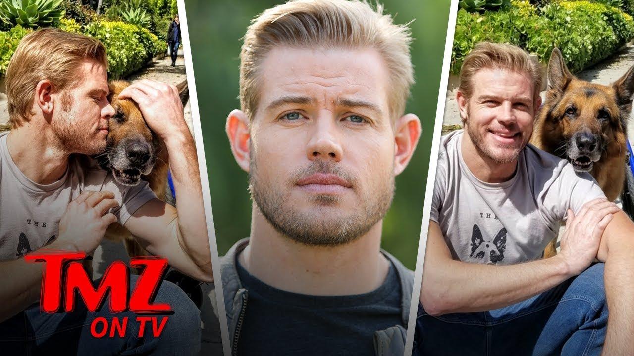 '90210' Star Trevor Donovan Donates Wheelchair to Paralyzed K-9   TMZ TV 4
