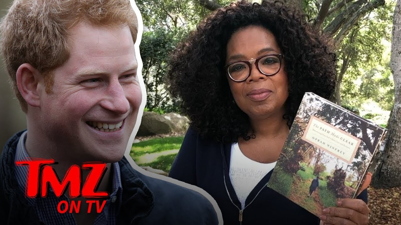 Prince Harry & Oprah Team Up for Mental Health Series on Apple TV | TMZ TV 5