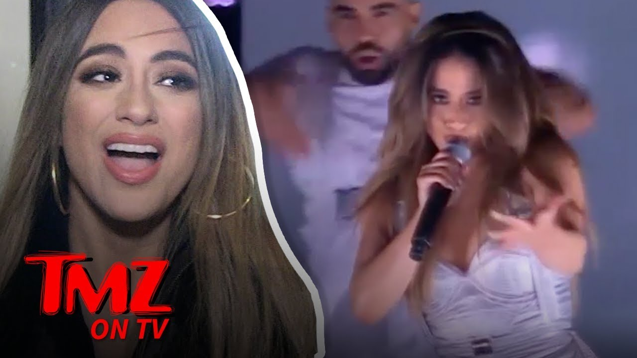 Ally Brooke Shows Us Her Pre-show Ritual | TMZ TV 5