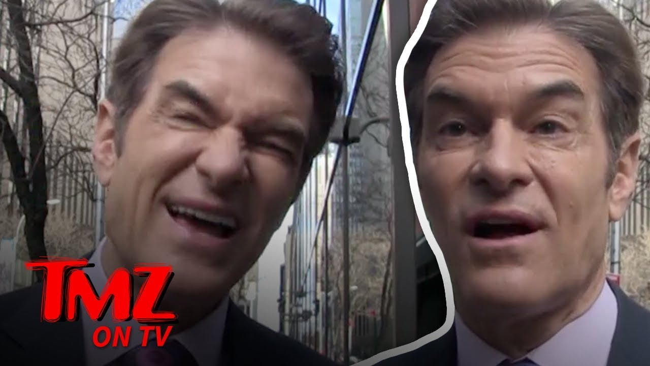 Dr. Oz Comments On New Condom Style | TMZ TV 5