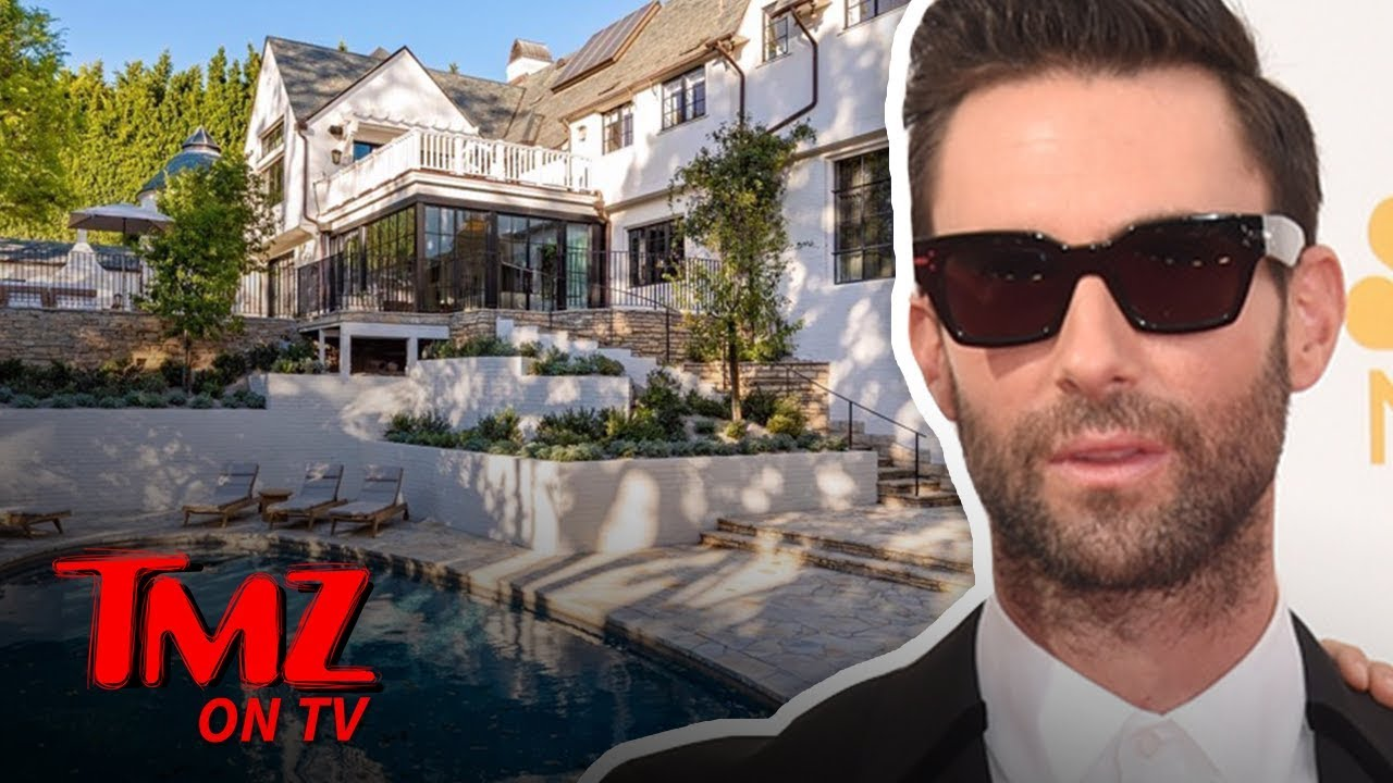 Adam Levine Puts Beautiful Beverly Hills Home on Market for $47.5 Million | TMZ TV 3