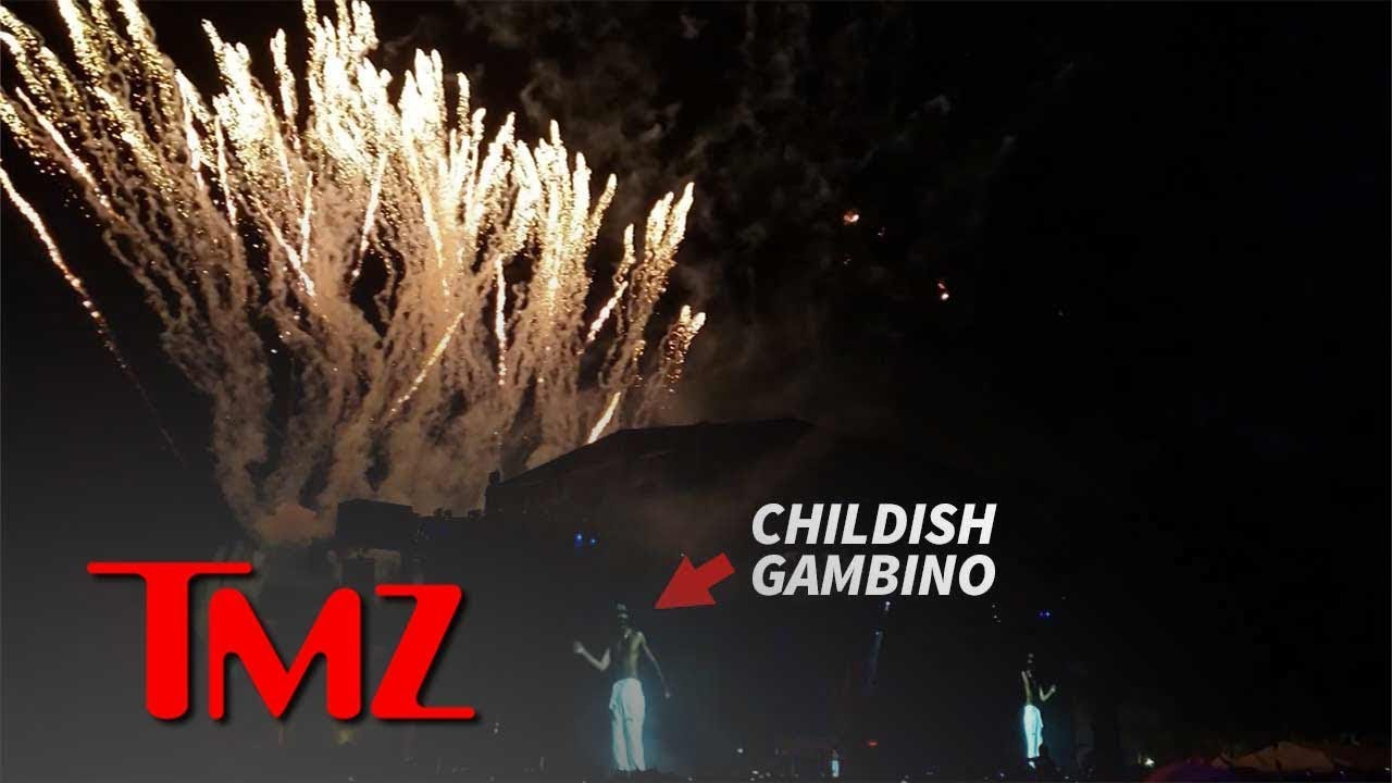 Childish Gambino Fires Off Brand New Show for Weekend 2 at Coachella | TMZ 4