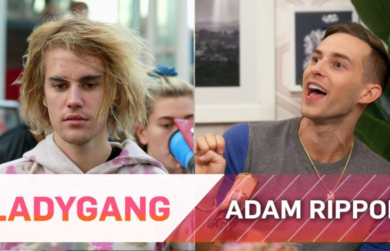 Adam Rippon Reacts to Justin Bieber Trolling Shawn Mendes | LadyGang | E! 1