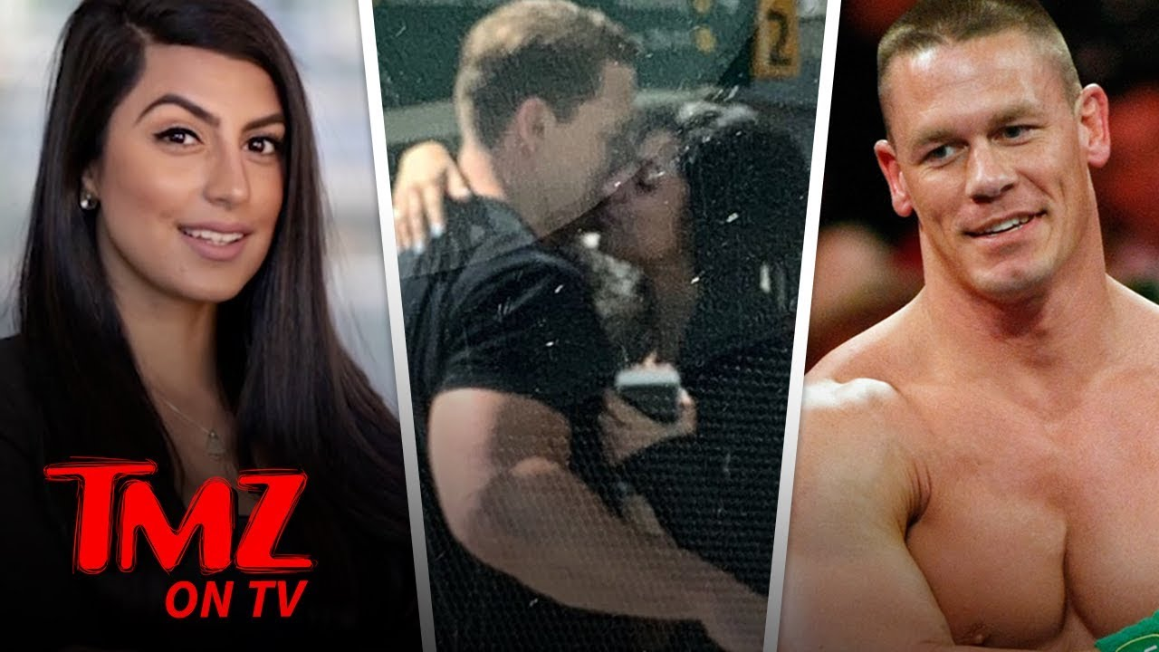 John Cena Kisses New Girlfriend, Making Things Official | TMZ TV 5