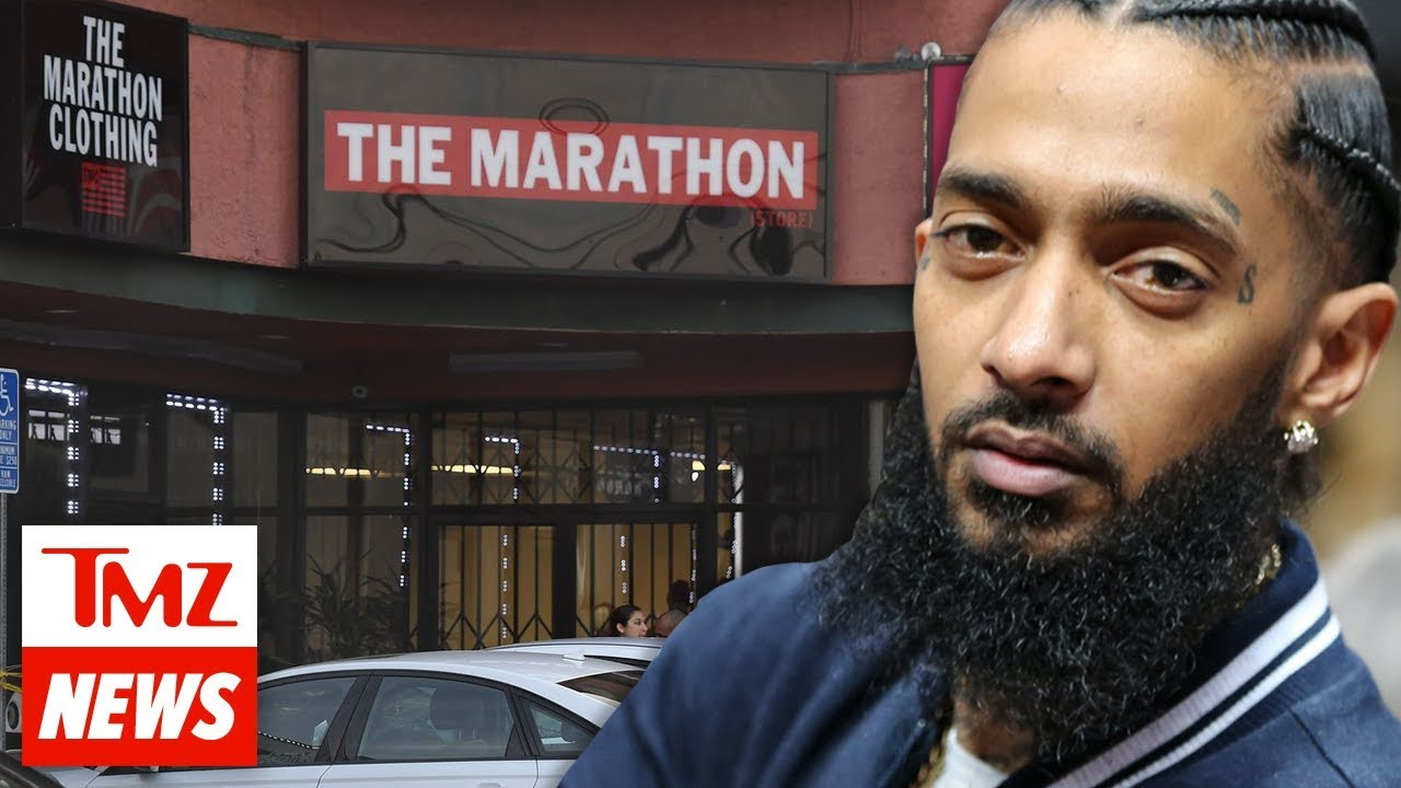 Nipsey Hussle Was At His Store to Help Just Released Ex Con Pal | TMZ NEWSROOM TODAY 5