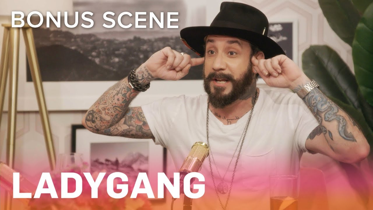 AJ McLean Confirms Feud With *NSYNC's Chris Kirkpatrick   LadyGang Bonus Scene   E! 1