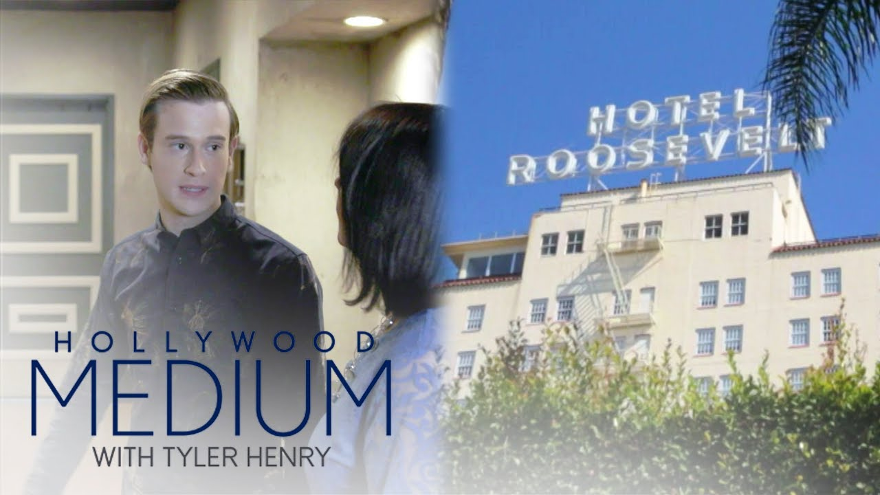 Tyler Henry Pinpoints Where at The Hollywood Roosevelt Is Haunted   Hollywood Medium   E! 4