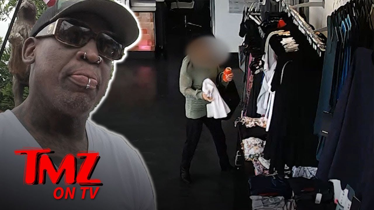 Dennis Rodman Denies Stealing Clothes! | TMZ TV 4