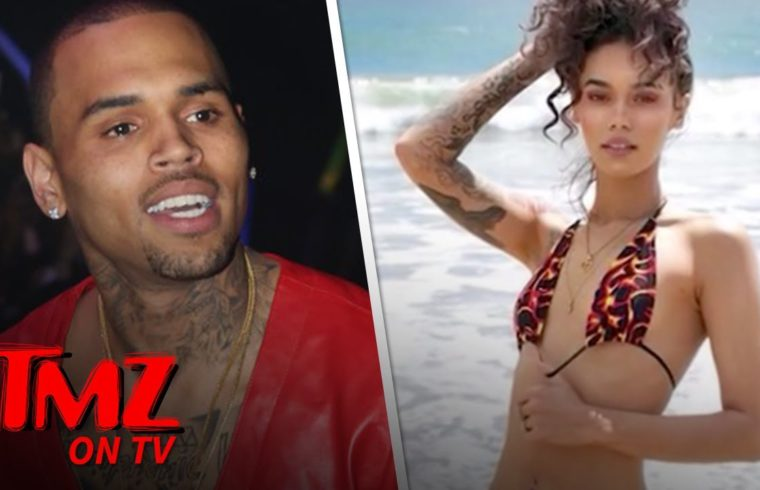 Chris Brown's Reported New Fling Indyamarie Is Hot, Hot, Hot! | TMZ TV 1