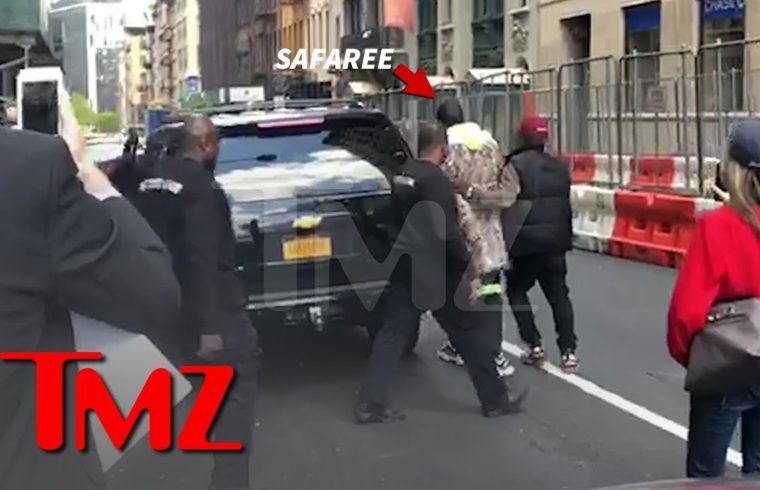Safaree Rushed By Security | TMZ 1