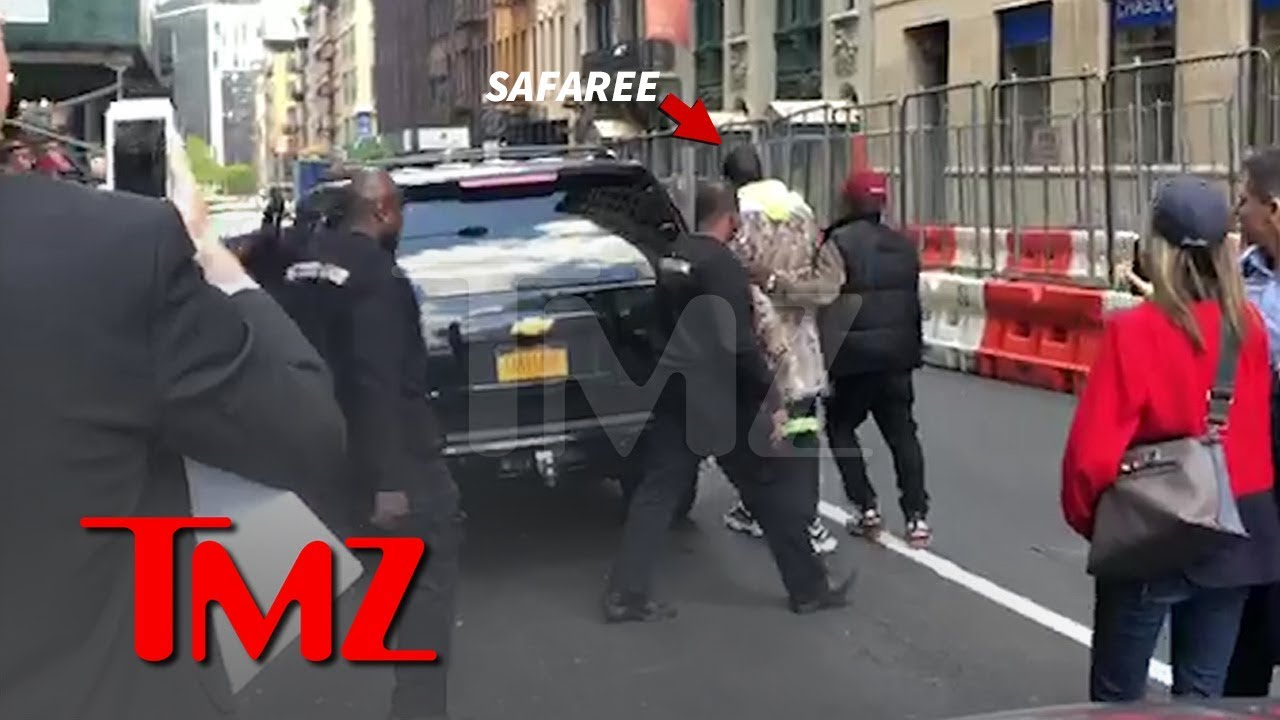 Safaree Rushed By Security | TMZ 3