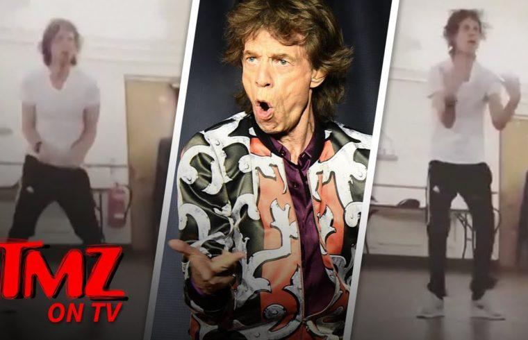 Mick Jagger is Dancing His Ass Off One Month After Heart Surgery | TMZ TV 1
