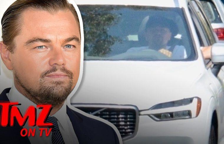 Leonardo DiCaprio Cruises L.A. Like a True Volvo Environmentalist | TMZ TV 1