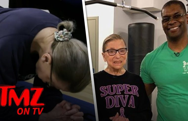 RBG's Personal Trainer Says She Could Beat Betty White In A Fight! | TMZ TV 1