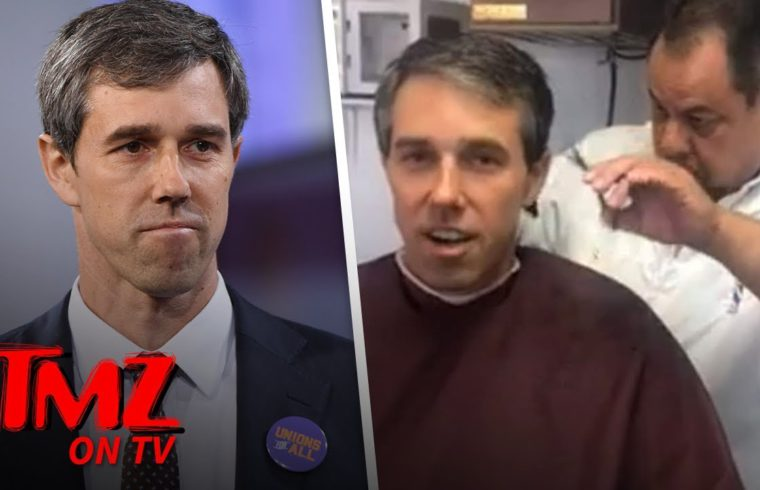 Beto O'Rourke's Barber says Presidential Candidate's a Great Tipper | TMZ TV 1