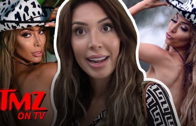 Farrah Abraham Bares Ass, Goes Topless for Nude Fashion Label Shoot | TMZ TV 1