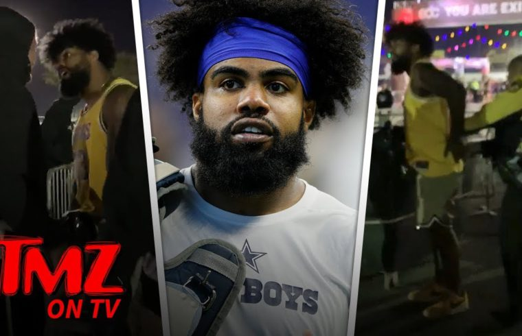 NFL Star Ezekiel Elliott Handcuffed at EDC Vegas After Altercation | TMZ TV 1