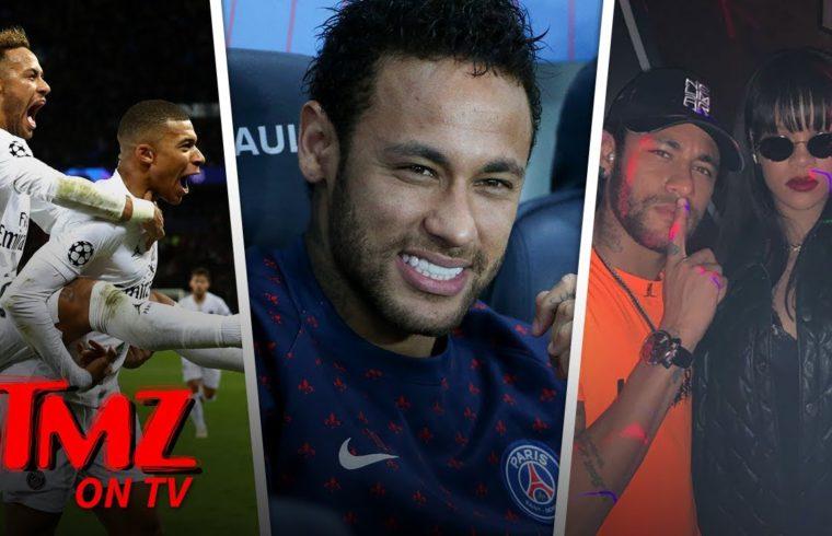 Neymar Blows Off Huge Award Ceremony to Hang with Rihanna | TMZ TV 1