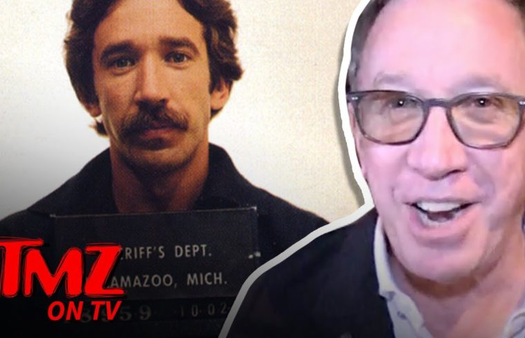Tim Allen Comments On Colorado Legalizing Mushrooms! | TMZ TV 1