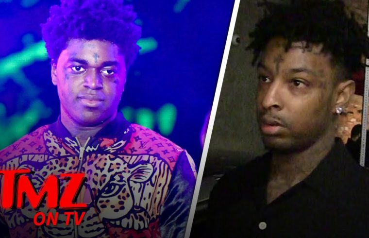 21 Savage Thinks Some Rappers Just Ain't Too Bright | TMZ TV 1