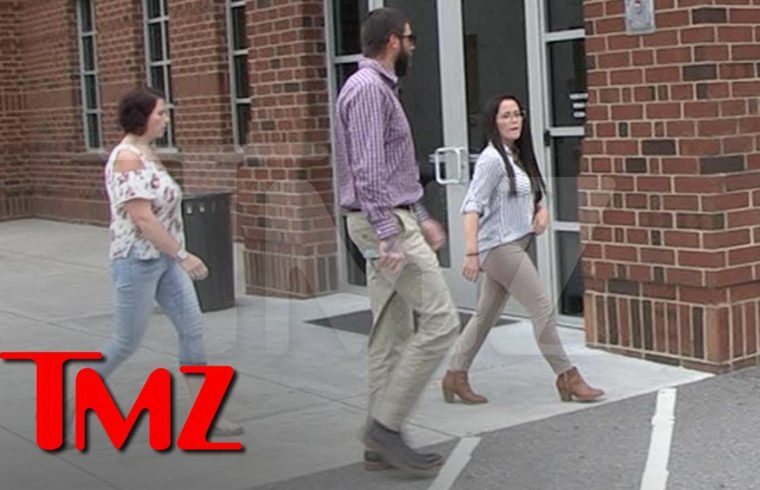 Jenelle Evans and David Eason Leave Without Kids After Tense Custody Fight | TMZ 1