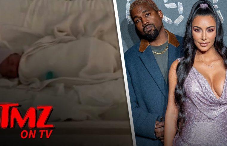 Kim K and Kanye West Name Baby No. 4 Psalm West | TMZ TV 1