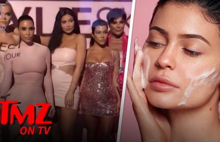 Kylie Jenner's Skincare Launch a Roller Skating Dreamland | TMZ TV 1