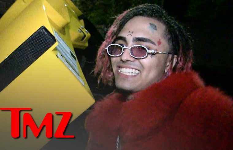 Lil Pump Says He Won't Stop Smoking at Gas Stations, You've Been Warned | TMZ 1