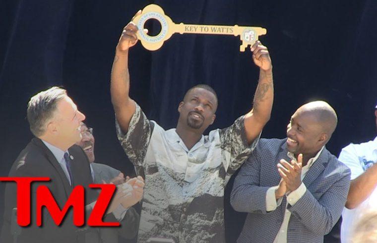 Jay Rock Keeps Winning, Receives Key to Watts, Los Angeles 1