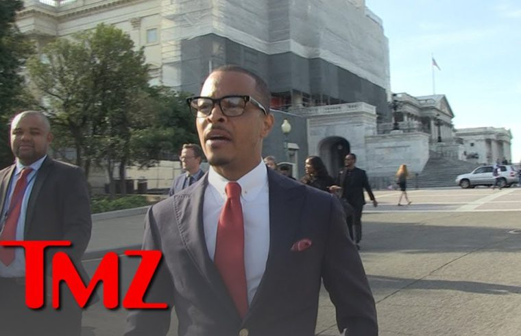 T.I. Carries Nipsey Hussle Torch to U.S. Capitol 1