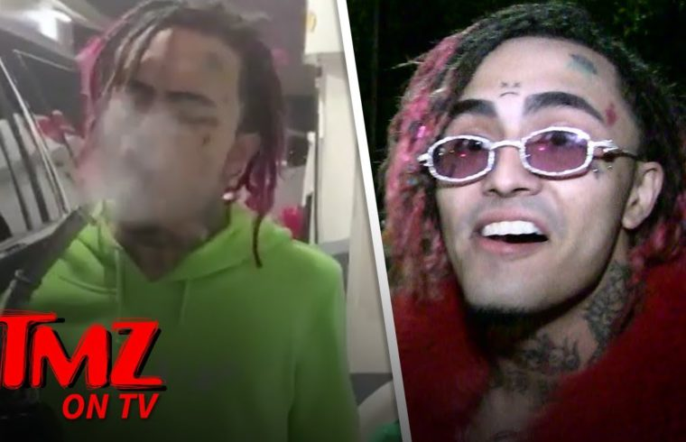 Lil Pump Doesn't Care About Blowing Up A Gas Station | TMZ TV 1